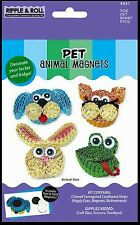 Quilled Creations Corrugated Cardstock Quilling Kit ~ PET Animal Magnets ~431