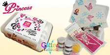 Princess Glitter Temporary Tattoo Kit - ideal gift!