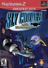 PLAYSTATION 2 PS2 SLY COOPER & THIEVIOUS RACCOUNOUS NEW