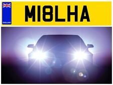 M18 LHA MILA MRS MR MILLER MILLERS MILLY MILL MILLS MILLSY PRIVATE NUMBER PLATE
