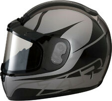 Z1R PHANTOM SNOWMOBILE SNOW HELMET FULL FACE ANTI-FOG SHIELD STEALTH X-LARGE XL