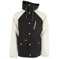 HOLDEN Men's VARSITY Snow Jacket - Black/Bone - Medium - NWT - Reg $360