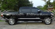 2007-2017 Toyota Tundra Crew Max Cab Short Bed Flat Body Side Molding- 8Pc