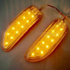 2 X 11 LED Car Turn Signal Indicator Mirror Light Amber