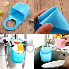 Creative Bathroom kitchen Silicone Hanging organize Storage Box Holder gadget