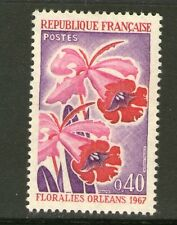TIMBRE 1528 NEUF XX LUXE - ORCHIDEES - FLORALIES D' ORLEANS 1967