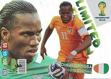 LIMITED DROGBA  Shanghai Shenhua.FC PANINI CARD ADRENALYN WORLD CUP BRAZIL 2014