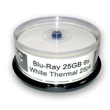 Acu-Disc™  Blu-Ray Blank Media 25GB 6x Thermal - 25 discs in cake box