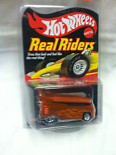 Hot Wheels Collector's Club Real Riders VW Drag Bus in Spectraflame Orange