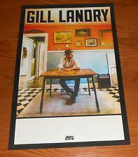 Gill Landry Poster Original Promo 11x17 RARE (Old Crow Medicine Show)