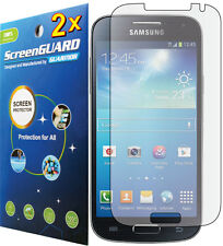 2x Clear LCD Screen Protector Guard Straight Talk Samsung Galaxy S4 S975G S975L