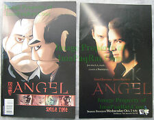 Angel Smile Time #3 A SPIKE Plus BIN Bonus - Print Ad that Inspired the Cover!