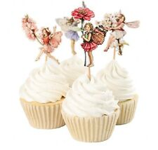 24 pcs Cupcake Cup Cake Decorating,Toppers PARTY DECORATION , Flower Fairy