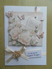 Luxury Hand-Made Birthday Card-Can Be Personalised-Any Relative/Friend