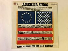 America Sings For Our 200th Birthday NEW SS Columbia Special Products ‎–vinyl lp
