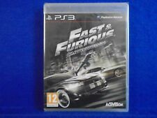 ps3 FAST AND FURIOUS Showdown Action Adventure NEW & Sealed Nintendo PAL