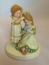 Holly Hobbie 1979 Good Times Sweet Remembrance 2 Girls Figurine