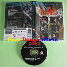 DVD THE WHO Listening to you Live at isle of wight festival 1970 no vhs mc (DM2)