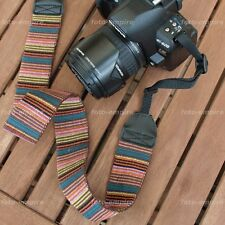Camera strap Safety harness Textile Unusual Motif adjustable for DSLR Camera