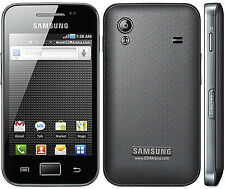 "Brand Samsung Galaxy Ace GT-S5830i Black (Unlocked) Smartphone 3.5"" 5MP GSM"