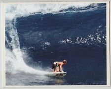 RONNIE BURNS AT PIPELINE 1988, EHUKAI BEACH NORTH SHORE HALEIWA GICLEE 8X10""