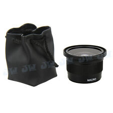 0.35x Super Fisheye Wide Angle Lens for 58 MM Canon EOS 700D 650D 550D 100D 1100