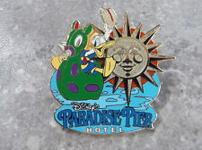 DISNEY DLR PARADISE PIER HOTEL PIN DONALD DUCK ON A FLOAT