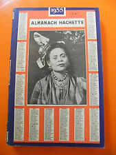 Almanach Hachette 1955 Petite encyclopédie de la vie pratique