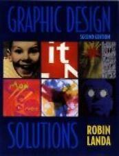 Graphic Design Solutions, 2E, Robin Landa, Good Condition, Book