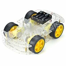 New DC 3v 5V 6V 4WD Robot Smart Car Chassis Kits with Speed Encoder for Arduino