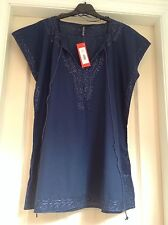 WOMENS SUMMER COTTON TOP SIZE 16 (BRITISH HOME STORES)