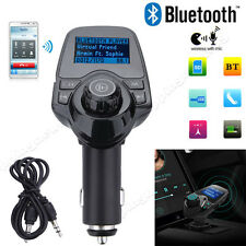 "1.5"" LCD Bluetooth Car MP3 FM Transmitter Radio USB Charger Handsfree For iPhone"