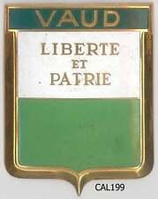 CAL199 - PLAQUE DE CALANDRE AUTO - VAUD