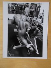 "DAVE PALUMBO muscle bodybuilding SIGNED muscular photo 8"" X 10"" by IRVIN GELB"