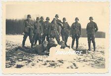 Foto Soldaten-Wehrmacht Maschinengewehr und MG-Gurt  (Q940)