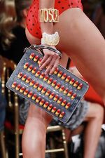 $795 NEW SS17 Moschino Couture X Jeremy Scott Pills Clutch Bag#JUSTSAYMOSCHINO