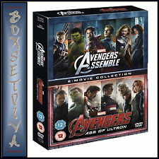 AVENGERS AGE OF ULTRON & AVENGERS ASSEMBLE - 2 MOVIE COLLECTION*BRAND NEW DVD***