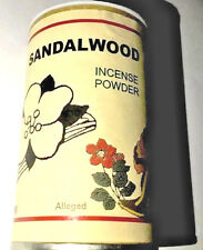 Sandalwood Powder Incense Powder In Container Incense HooDoo Wicca - 7 Sisters