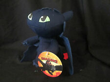 HOW TO TRAIN YOUR DRAGON 2 PLUSH / SOFT TOY -- TOOTHLESS -- 18 CM OFFICIAL NEW