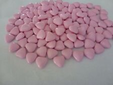 PINK MINI HEART CHOCOLATE DRAGEES WEDDING FAVOURS X150
