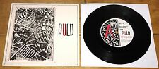 """PULP ~ EVERYBODY'S PROBLEM b/w THERE WAS ~ UK RED RHINO PUNK 7"""" 1983 NEAR MINT"""