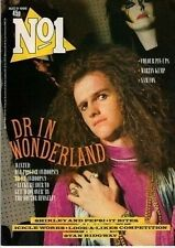 Doctor and The Medics on Magazine Cover 1986   Martin Kemp  Jesus and Mary Chain