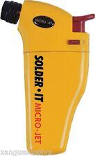 Solder It MJ-300 Original Butane Micro Jet Auto Ignite Windproof Torch