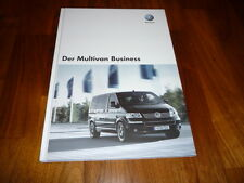 VW Multivan BUSINESS Prospekt 11/2007