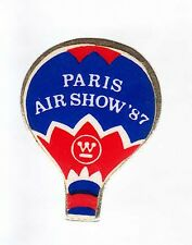 RARE PINS PIN'S .. BALLON BALLOON PARIS AIR 1987 ~6A
