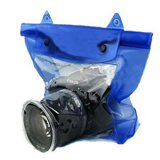 DSLR SLR Camera Waterproof Underwater Housing Case Pouch Bag for Canon Nikon New
