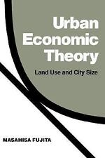 Urban Economic Theory: Land Use and City Size-ExLibrary