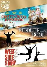 Chitty Chitty Bang Bang/West Side Story/Fiddler on the Roof(dvd, 3 disc)