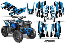 Polaris Scrambler 850/1000 AMR Racing Graphic Kit Sticker ATV Quad Decals ATTACK