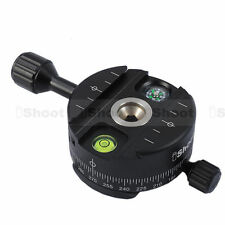 New Panorama Head for Arca-fit Camera Tripod BallHeads Quick Release Plate